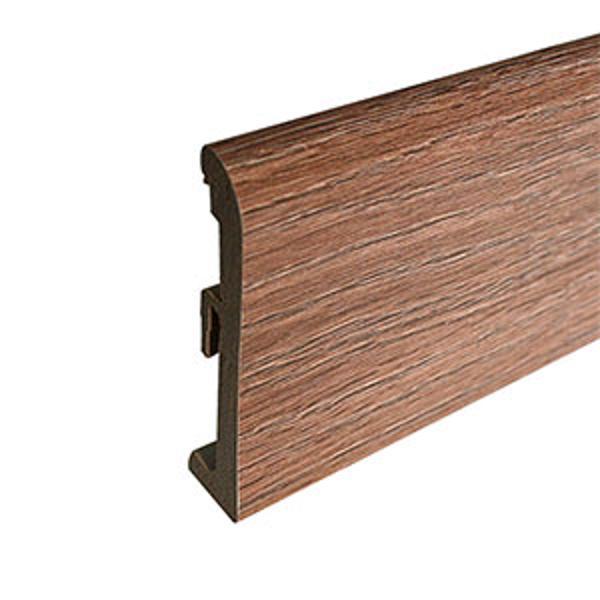Plinta din polimer culoare frasin maro Verden 80mm
