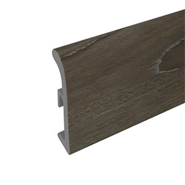Plinta din polimer culoare stejar siberian 80mm