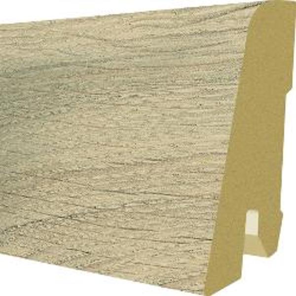Plinta MDF Egger 60x17 mm, 2,4 m, culoare Stejar Murom