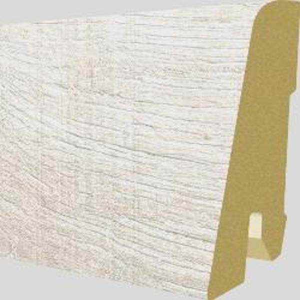 PlintaMDFEgger60x17mm,2,4m,culoareStejarCortonAlb