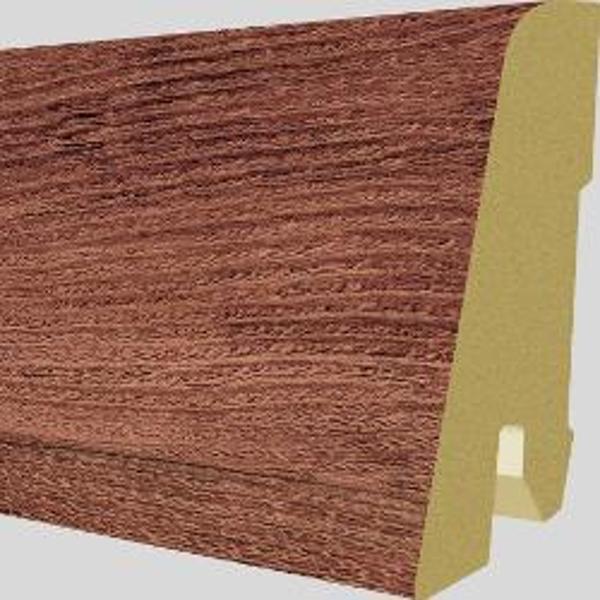PlintaMDFEgger60x17mm,2,4m,culoareStejarCortonRosu