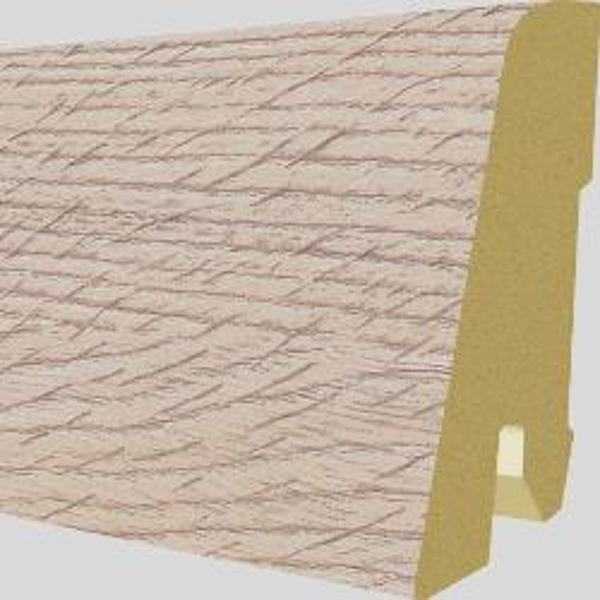 PlintaMDFEgger60x17mm,2,4m,culoareStejarAudleyDeschis