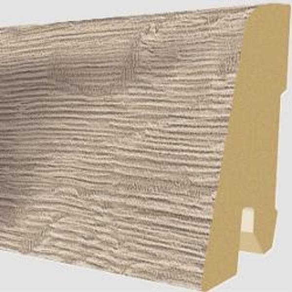 PlintaMDFEgger60x17mm,2,4m,culoareStejarAlbaGri