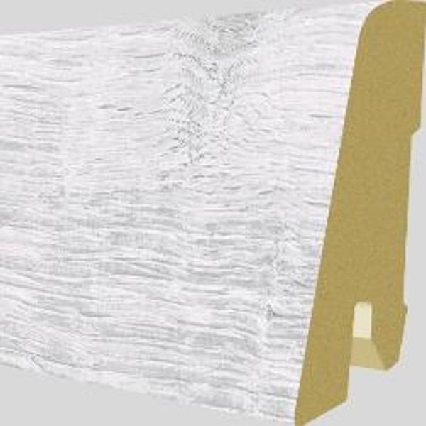 PlintaMDFEgger60x17mm,2,4m,culoareStejarWalthamAlb