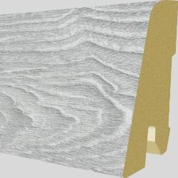 PlintaMDFEgger60x17mm,2,4m,culoareStejarRaydonAlb