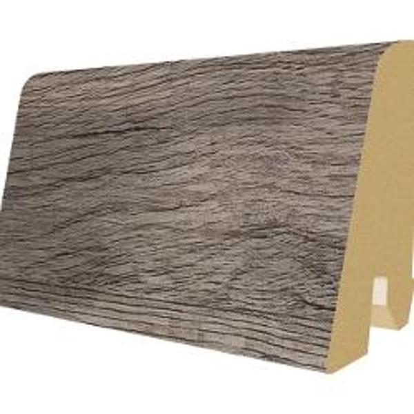 PlintaMDFEgger60x17mm,2,4m,culoareStejarBrutargintiu