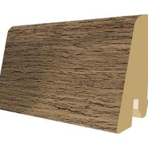 PlintaMDFEgger60x17mm,2,4m,culoareStejarAfumatcucrapaturi