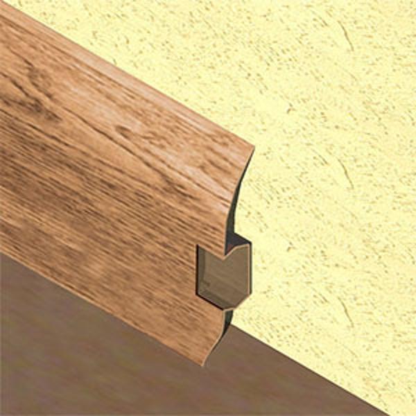 PBC605.128-Plinta pentru cabluri din PVC, 60x20 mm, 2,5 m lungime