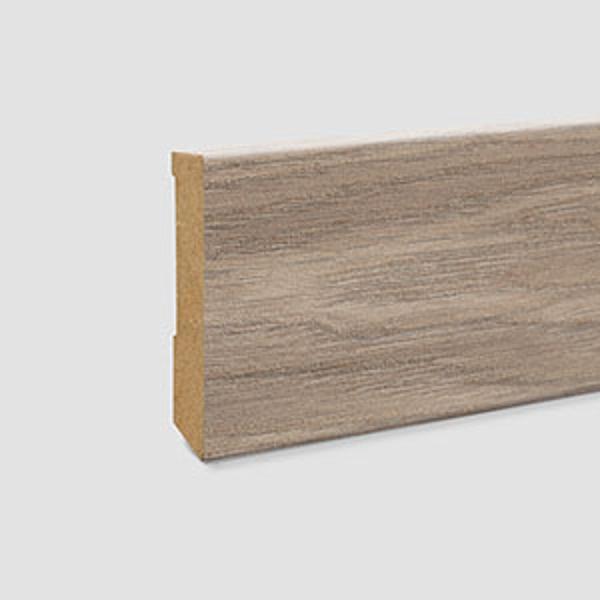L585-Plinta MDF Egger cubica 80x14 mm, 2,4 m, pentru parchet EPL180