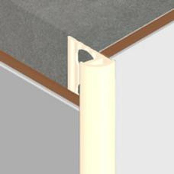 DTT10-Bagheta ECO colt exterior 10 mm din PVC,10mm