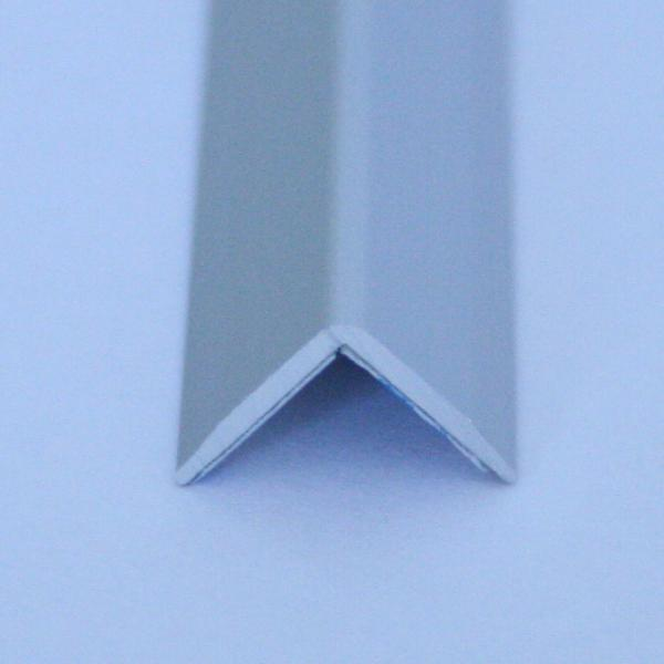 Cornier cu laturi tesite din aluminiu eloxat 10x10mm - EAA100