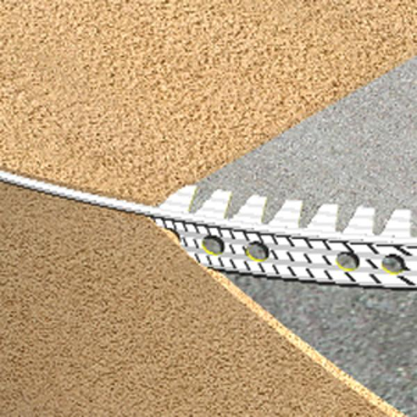 EPF250-Cornier Genesis flexibil pentru tencuiala din PVC