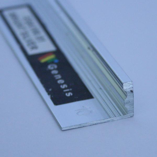 ESA100-Bagheta dreapta muchii exterioare din aluminiueloxatA=10mm-ESA100