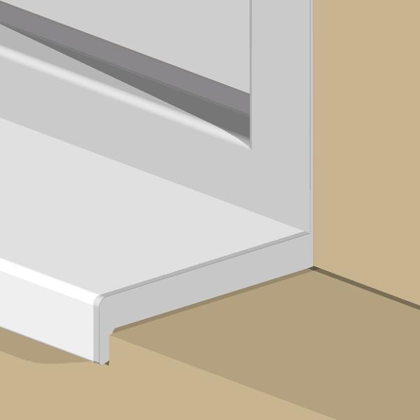 GCD100-Terminatie dreapta pentru glaful interior GLI
