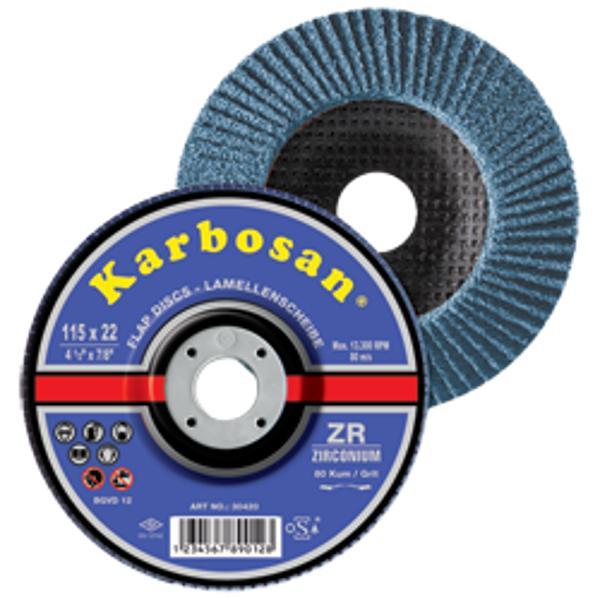 Disc lamelar conic pentru inox/metal