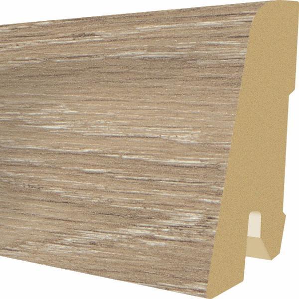PlintaMDFEgger60x17mm,2,4m,culoareStejarTrilogycapucino