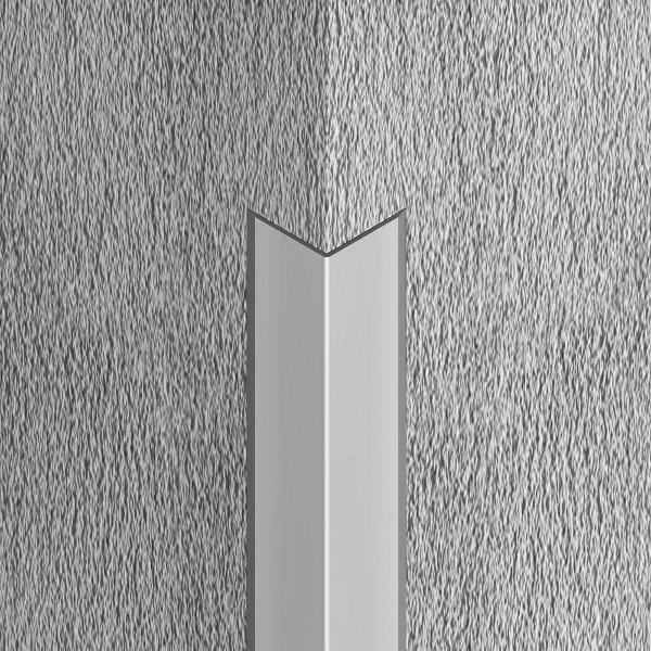 LCA257-Cornier cu laturi tesite din eloxALUM 20,25x25mm