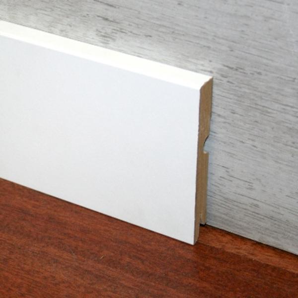 Plinta alba din MDF Egger 95x15mm,2,4m