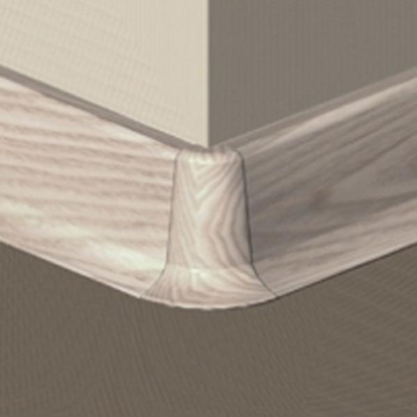 PBE505.153-S4-Set 4 bucati piese colt exterior culoare artar alb plinta PBC505