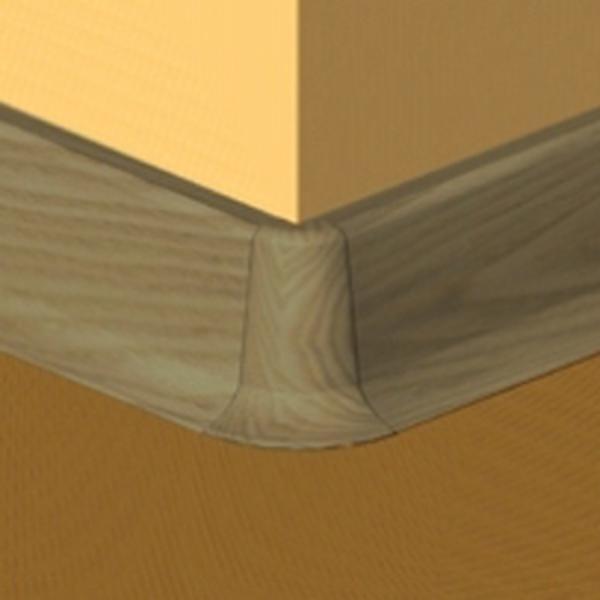 PBE505.159-S4-Set 4 bucati piese colt exterior culoare stejar vechi plinta PBC505