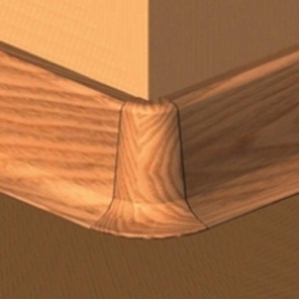 PBE505.164-S4-Set 4 bucati piese colt exterior culoare cires inchis plinta PBC505