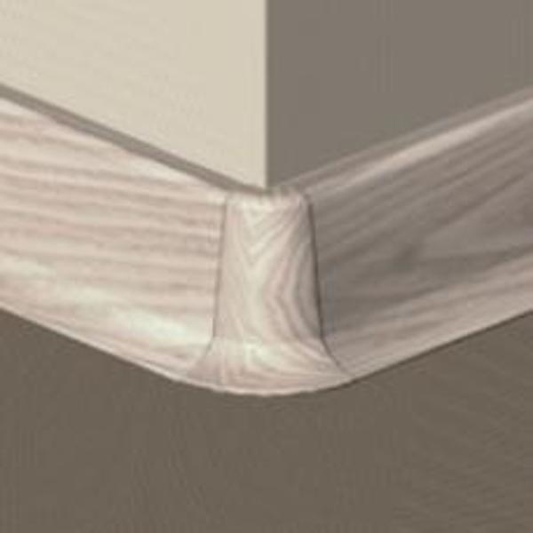 PBE605.153-S4-Set 4 bucati piese colt exterior culoare artar alb pentru plinta PBC605