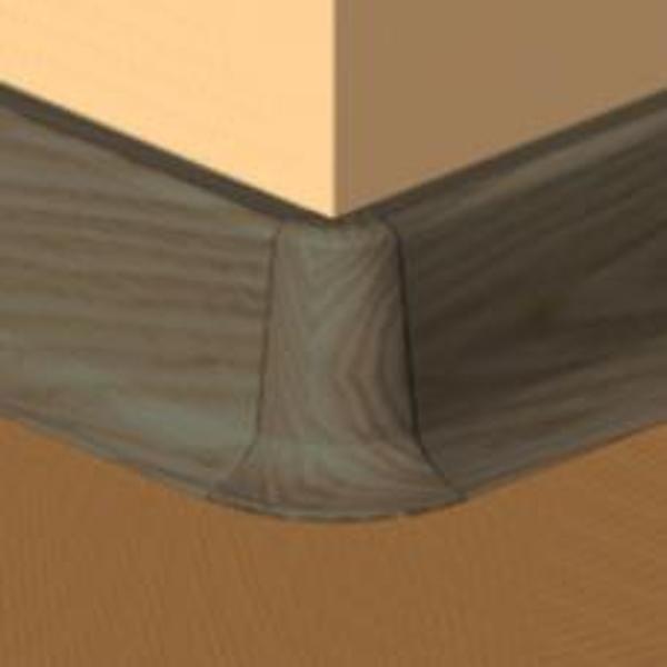 PBE605.162-S4-Set 4 bucati piese colt exterior culoare wenge pentru plinta PBC605
