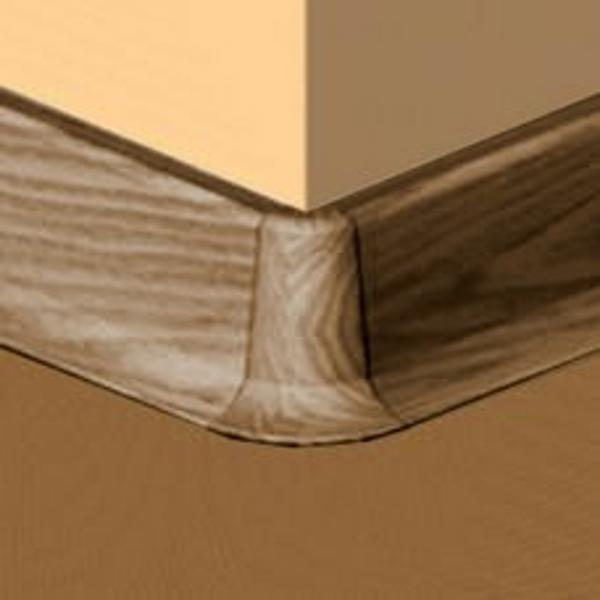 PBE605.167-S4-Set 4 bucati piese colt exterior culoare nuc inchis pentru plinta PBC605