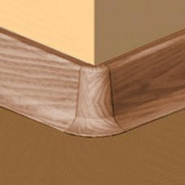 PBE605.168-S4-Set 4 bucati piese colt exterior culoare cires deschis pentru plinta PBC605