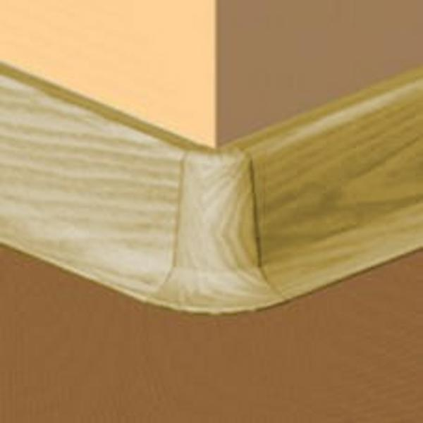 PBE605.169-S4-Set 4 bucati piese colt exterior culoare stejar auriu pentru plinta PBC605