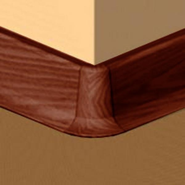 PBE605.173-S4-Set 4 bucati piese colt exterior culoare palisandru pentru plinta PBC605