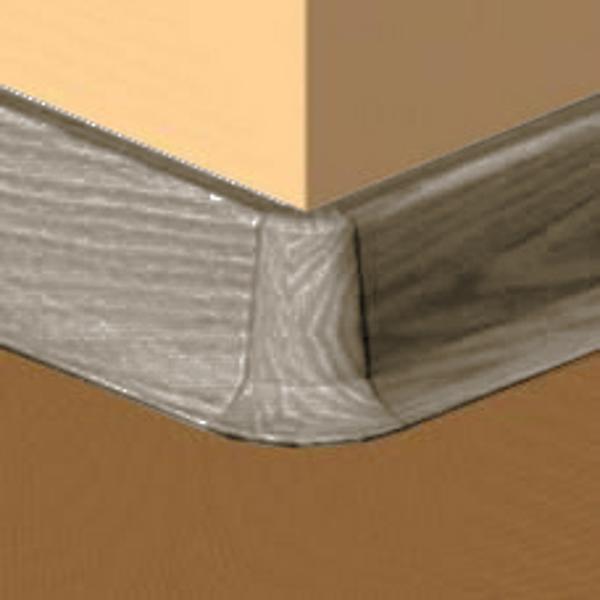 PBE605.240-S4-Set 4 bucati piese colt exterior culoare gri maroniu pentru plinta PBC605