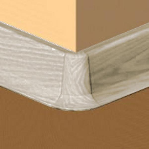 PBE605.242-S4-Set 4 bucati piese colt exterior culoare gri artar pentru plinta PBC605