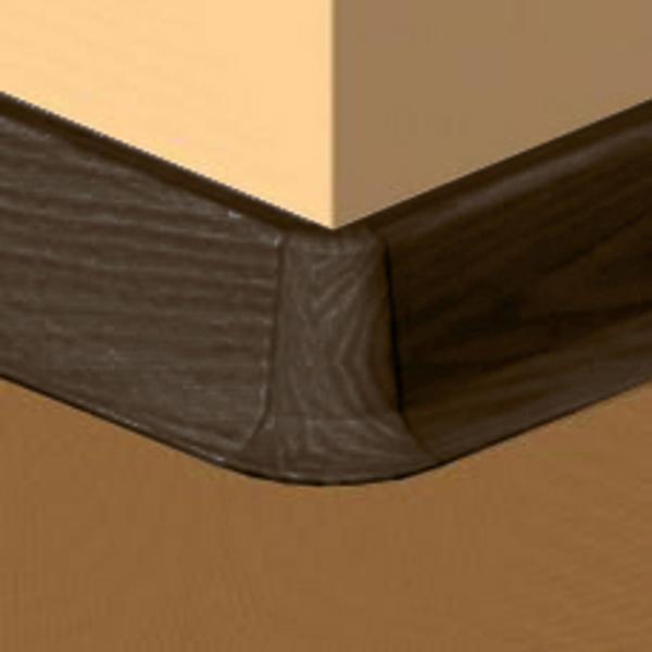 PBE605.244-S4-Set 4 bucati piese colt exterior culoare zebrano pentru plinta PBC605