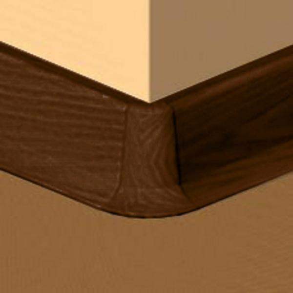 PBE605.267-S4-Set 4 bucati piese colt exterior culoare cires maroniu pentru plinta PBC605