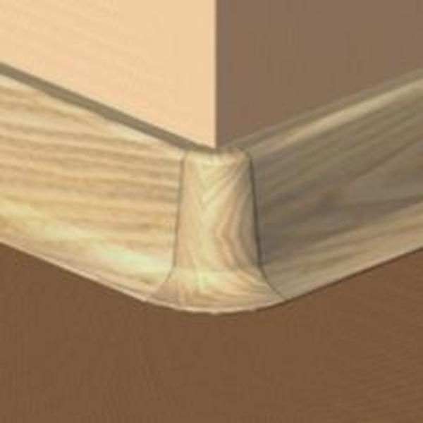 PBE605.40-S4-Set 4 bucati piese colt exterior culoare stejar pentru plinta PBC605