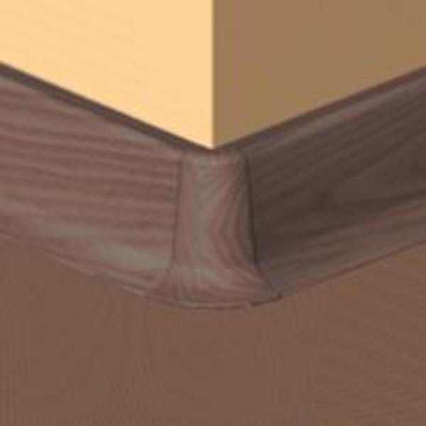 PBE605.41-S4-Set 4 bucati piese colt exterior culoare mahon pentru plinta PBC605