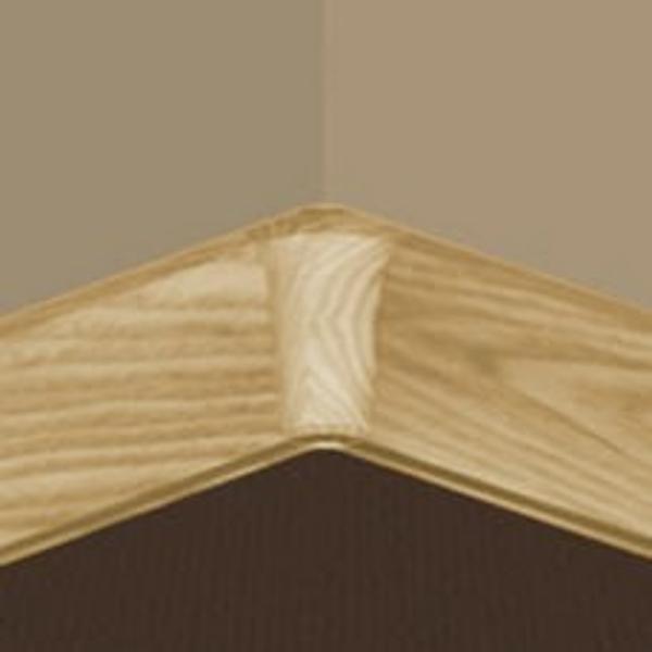 PBY605.169-S4-Set 4 bucati piese colt interior culoare stejar auriu pentru plinta PBC605