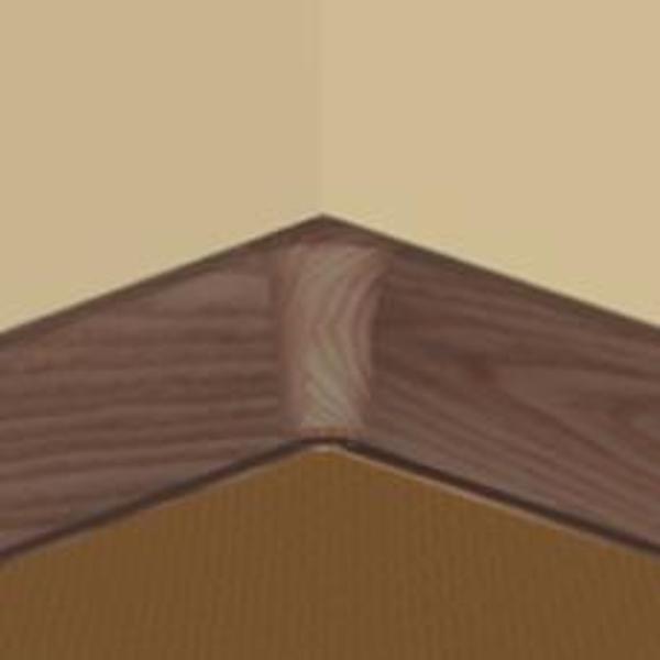 PBY605.41-S4-Set 4 bucati piese colt interior culoare mahon pentru plinta PBC605