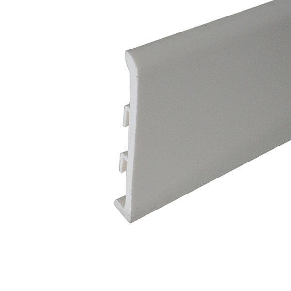 Plinta alba din polimer 120 mm