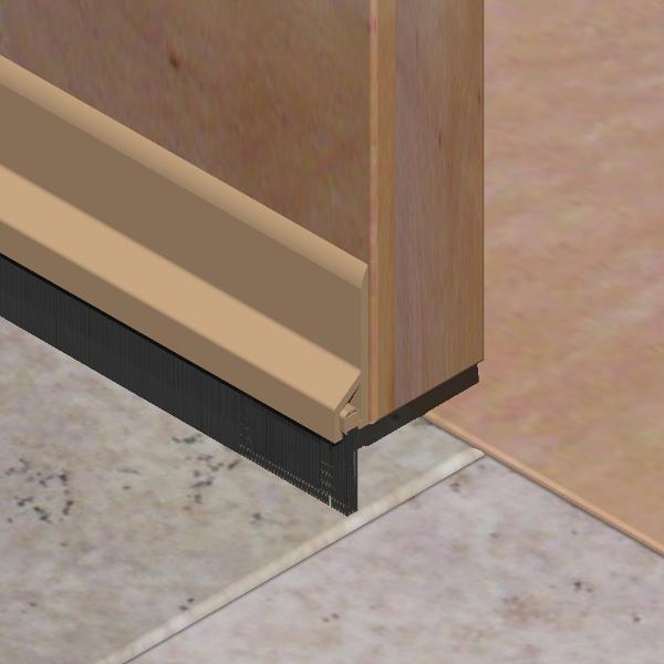 PPN251-Perie pentru usi din PVC