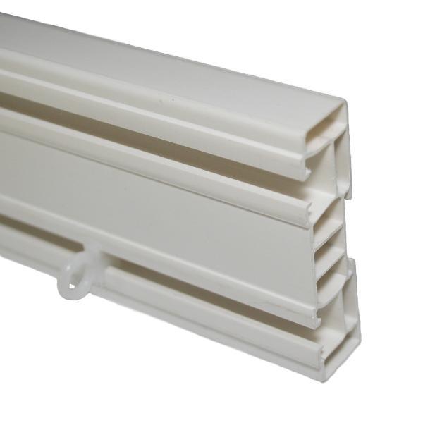 SPP2-Sina din plastic pentru perdele cu 2 canale,1,5m