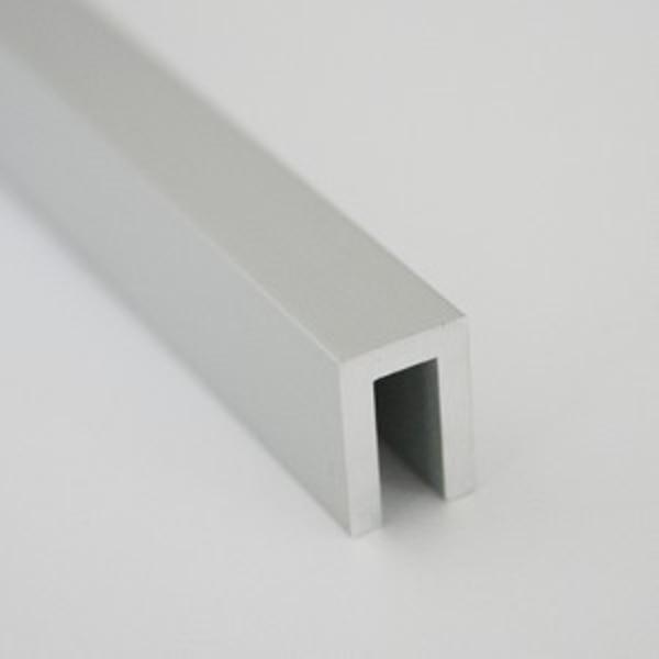 UPA10-Profil U din aluminiu, 8x12X2,0mm