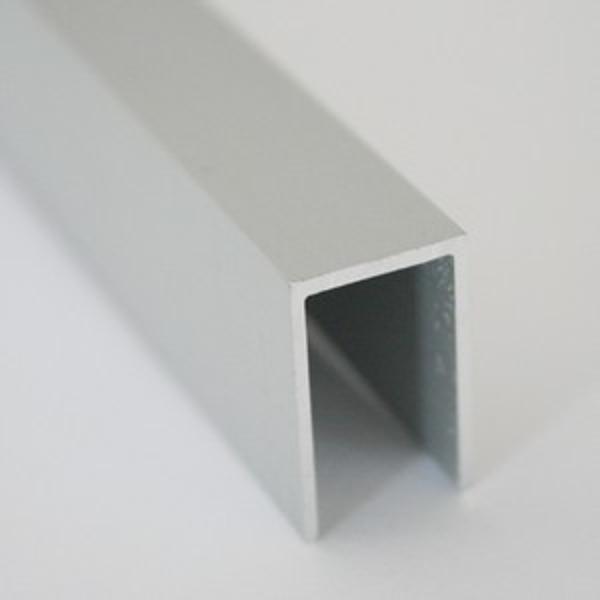 UPA22-Profil U din aluminiu,12,5X20X1,0mm