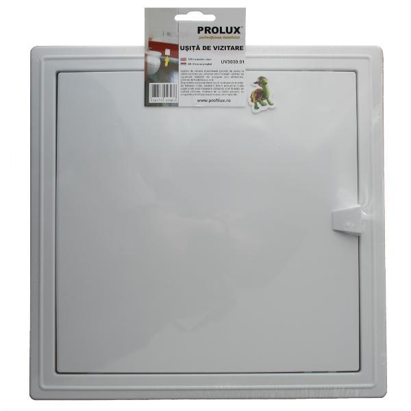 UV3030-Usita de vizitare din PVC, 30x30cm
