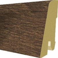 Plinta MDF Egger 60x17 mm, 2,4 m, culoare Stejar Belton Inchis