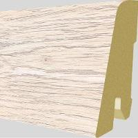 PlintaMDFEgger60x17mm,2,4m,culoareStejarNewburyAlb