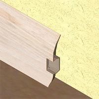 PBC605.122-Plinta pentru cabluri din PVC, 60x20 mm, 2,5 m lungime