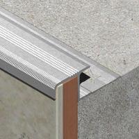 LDA125-Protectie treapta ceramica LINECO din aluminiueloxat,12mm