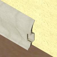 PBC605-Plinta LINECO din PVC culoare artar alb pentru parchet-60mm